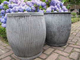"""Oude Engelse grote wasteil """"Dolly Tub"""""""