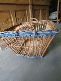 Franse oude rieten mand
