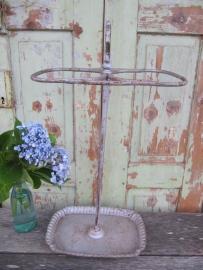 Oude Franse metalen parapluistandaard