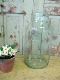 Grote glazen pot 15 liter