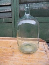 Leuke oude groene fles