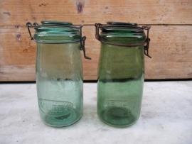 Oude inmaakpot van Solidex 1 liter