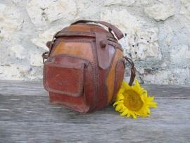 Brocante tas gemaakt van Kallebas