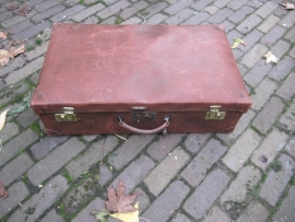 Mooie oude brocante Franse koffer