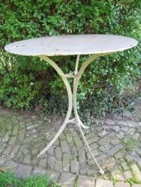 Antiek Frans metalen tafeltje