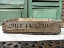 Veilingkistjes Emile Pasleau