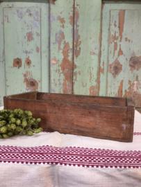 Brocant houten kistje
