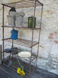 Antieke Franse etagere of wandrek