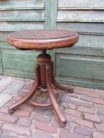 Antieke piano kruk van Thonet