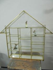 Metalen vitrine showkastje