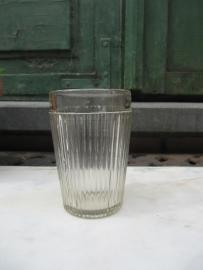 Brocante heel stevig Frans oud glas