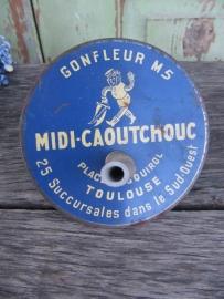 Oude Franse voetpomp