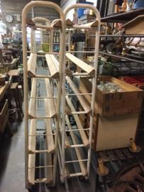 Old industrial bakers trolley