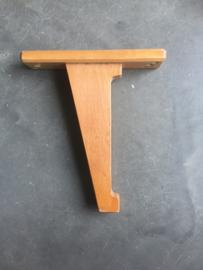 Vintage houten muursteun