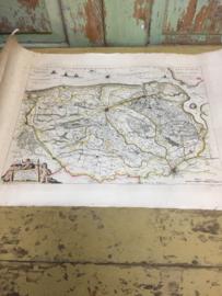 Oude kaart van Vlaanderen