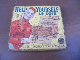 Antiek sigaren blikje van José Tinchant Y Gonzales S.A.