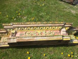 Antieke houten Spaanse omlijsting