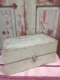 Oude Franse houten kist
