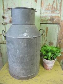 Antique zinc big honey jar.