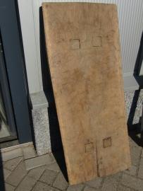 Oud dik houten blad