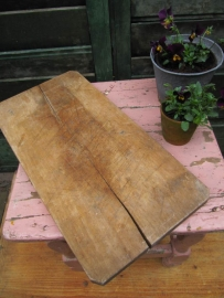 Mooie oude lange snijplank