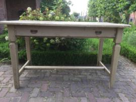 Brocant houten tafel