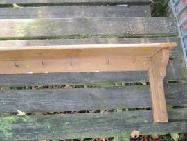 Franse bruine regaal of legplank
