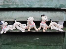 "Setje van 5 beeldjes ""101 Dalmatiërs"""
