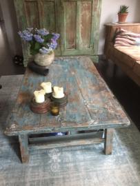 Brocant houten tafeltje