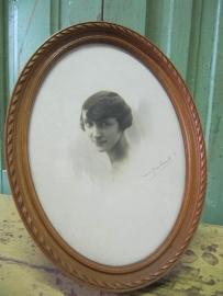 Frans oud fotolijstje