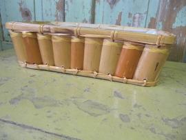 Vintage bamboe mandje