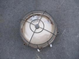 Oude Originele Franse ronde kooilamp