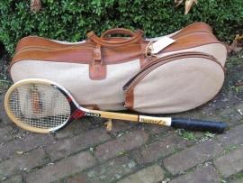 Brocante Squash tas en racket