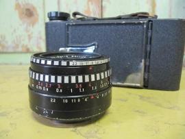 Oude foto lens