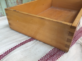 Vintage houten kist/bak