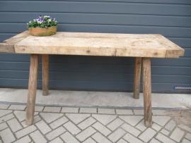 Oude (slagers) tafel
