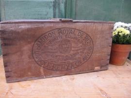 "Antieke houten kist ""Royal de Riz"""