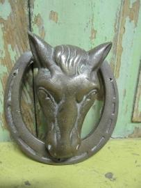 Oude deurklopper paard