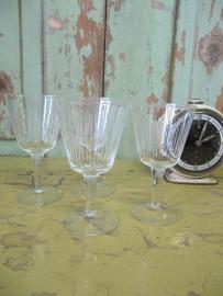 Set van 4 port glazen