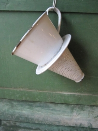 Emaille koffiefilter
