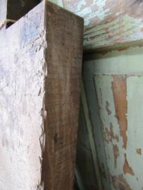 Oude dikke Franse houten snijplank zware kwaliteit