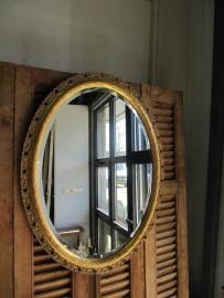 Heel mooie ovale spiegel
