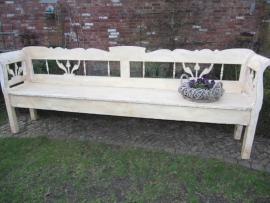 Brocante houten (tuin)bank