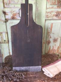Oude houten bakkers plank