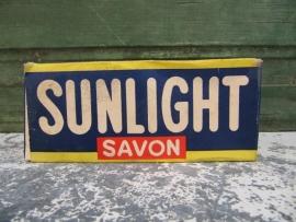 Sunlight zeep in kartonnen doos