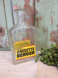 Brocante pastis fles Anisette Berger