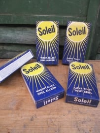 Oud pak zeep Soleil