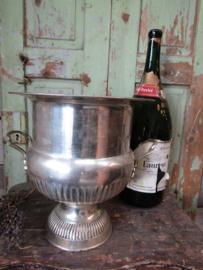 Antieke grote champagnekoeler