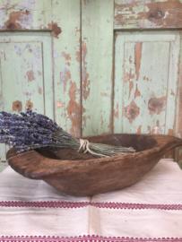 Brocante houten deegbak