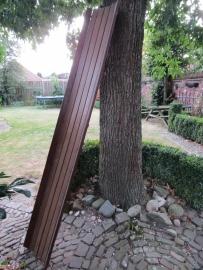 Vintage houten glijbaan